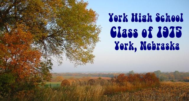 Class of 1975 / York High School / York, Nebraska